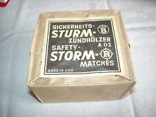 10er Pack /Würfel Sturm Streichhölzer - Zündhölzer  Sturmhölzer DDR NEU Kult NVA