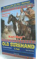 A1-Filmplakat - OLD SUREHAND 1.Teil - Pierre Brice, STEWART GRANGER ,KARL MAY