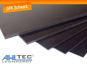 GFK Platte Dicke 1,0 mm / G10 FR4 schwarz Glasfaser / Größe wählbar