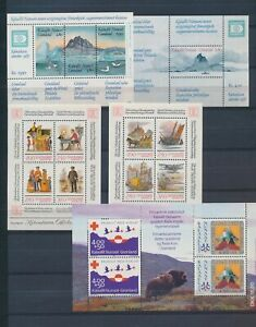 XC59733 Greenland Denmark mixed thematics sheets MNH