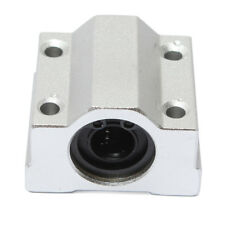 SCS10UU 10mm Linear Motion Ball Bearing Slide Bushing Block Silver L9I8