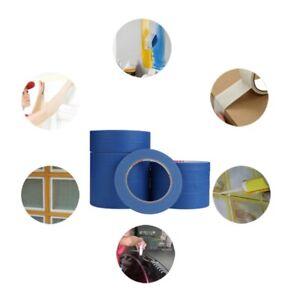 30M Blue Painters Clean Peel Masking Tape Adhesive DIY Painting Paper Painters