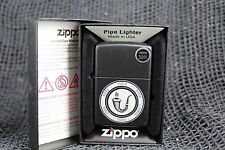 Brand New Zippo Calabash Smoking Pipe Black Matte Lighter