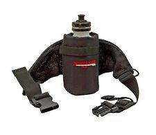 Bushwhacker Oasis Black Running Hydration Belt Bottle Hiking Biking Jogging Pack