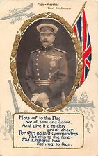 POSTCARD  MILITARY    Field  Marshall   EARL  KITCHENER       RP