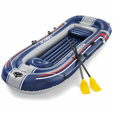 Bestway Hydro Force Treck X3 Heavy Duty Inflatable 3 Person Water Raft Set