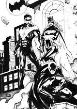 "PIN UP Batman Night Wing Bat Girl (11"" x17"") by MATHEUS HENRIQUE  - ArtinUp"