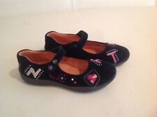 New GIRLS NATURINO  FLORAL MARY JANE SHOES SIZE EU 31 US 13