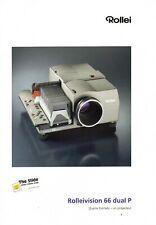 ROLLEI projecteur 66 dual P - Brochure publicitaire - français - 2003
