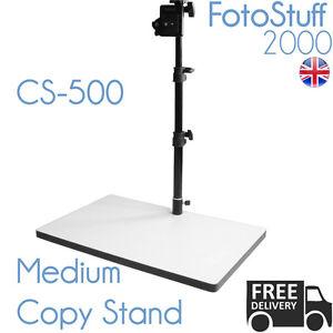 CS 500 Medium Copy Stand Rostrum 50 CM Max Height Quick Release UK Stock