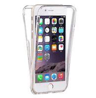 Coque iphone 7 7 plus 6 6s 5g 5s 5c  silicone gel intégrale avant + arrière