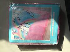 Justice Girls Pink Sequin Bed Skirt Tulle Sequins Bedskirt Queen New