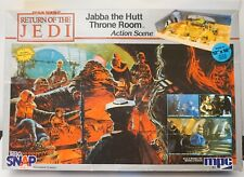 Vintage STAR WARS Jabba The Hutt Throne Room Diorama Model Kit MPC 1984