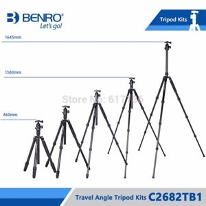 Benro Travel Angel 2 Four Section Carbon Twist Lock TRIPOD with B1 Head (SEALED)