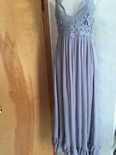 Intimately Free People Women's Lace dress,long,small,lavender
