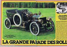 COUPURE DE PRESSE CLIPPING 1983 La Grande Parade des Rolls   (6 pages)