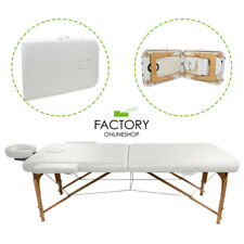 Portable Folding Massage Table Bed Spa Salon Facial Tattoo Physical White