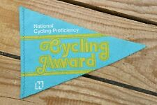 National Cycling Proficiency Pennant - C1970