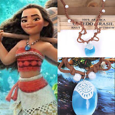 Girl Moana Princess Charm Necklace Principessa Cosplay Costumes Pendant Jewelry