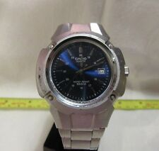 NICE CASIO ANALOG WATCH METAL CASE AND BAND MODEL MTP-3036 RUNS F107