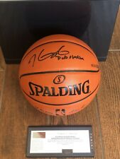 "KEVIN DURANT Autographed Spalding ""Dub Nation"" Basketball PANINI LE 35/135"