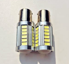 LED Car 2x White Bulb BA15S P21W 1156 Backup Reverse Light 33-SMD 5630 5730 CA