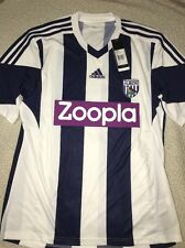 ADIDAS WEST BROMWICH HOME JERSEY,LARGE,NWT