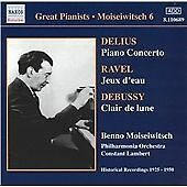 Great Pianists - Moiseiwitsch Vol 6, Philharmonia Orchestra, Very Good CD