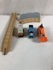 Lot Of 5 Thomas & Friends the Tank Wooden Railway  Trains Ascending Tracks Toy