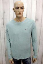 TOMMY HILFIGER Maglione Uomo Taglia M Casual Sweater Pullover Pull Invernale