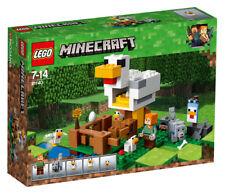 LEGO - 21140 - Minecraft - Jeu de Construction - le Poulailler LEGO