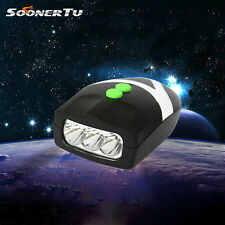 2 in 1 LED Bicycle Bike Front Light Horn Lamp Headligh Cycling Riding Bell 7754