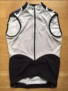 Assos iG.FalkenZahn Vest White Cycling Jacket - Size Medium