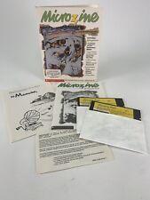 Scholastic Microzine 28 IBM PC Version - Rare - Tandy 1000