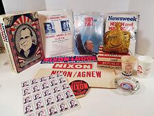 Richard Nixon Spiro Agnew Presidential Election LARGE LOT Politics Republican