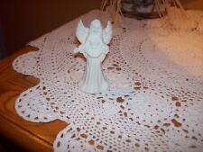 """4.5"""" Collectible Porcelain Angel Bell Figurine"""