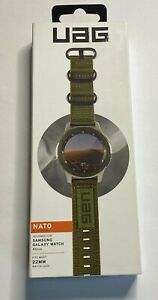 UAG Samsung Galaxy Watch Band 46mm, fits 22mm Watch Lugs, Nato Olive Drab