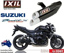 Suzuki Bandit 1250 /S GSF1250 2007-2018 IXIL L3X Black slip-on exhaust