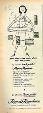 M- Publicité Advertising 1957 Les Conserves Raynal & Roquelaure