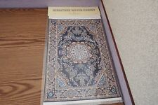new Dolls House xlarge Turkish Carpet /rug 29cm x20cm 1.12th scale