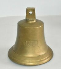 Alte Schiffsglocke 1834 Glocke Messing 1,7Kg 18cm Replika? Fach A4