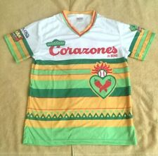 RENO ACES LOS CORAZONES BASEBALL JERSEY SHIRT - SIZE MEDIUM - MAY 11 2019 SGA