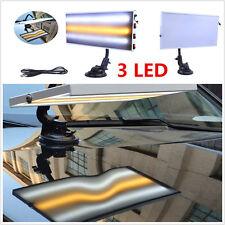 PDR Strumento 3 LED linea Board 5V USB LUCE paintless AMMACCATURE strumento di riparazione in lega di alluminio