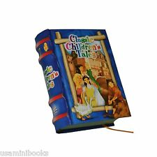 new Children's Tales Vol I full color illustrated miniature book hardbound