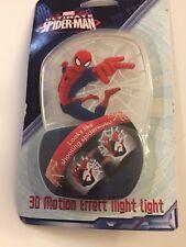 Spiderman LED  3D Motion Effect Night Light Ultimate Marvel. Soft Light Glow.