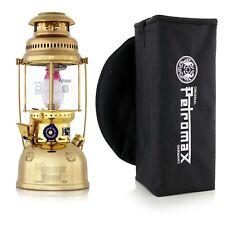 Original Petromax Lampes-tempête Hk500 Gold Lampe À Pétrole HK 500 laiton poli