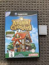 nintendo gamecube Animal Crossing (with Memory Card)