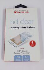 NEW ZAGG Invisible Shield HD Screen Protector Samsung Galaxy S6 Edge