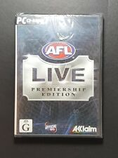 AFL Live Premiership Edition *Brand New Seal* (PC, 2004) PC Game - FREE POST