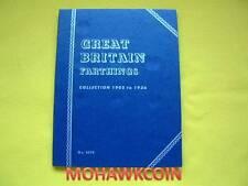 #9676 GREAT BRITAIN FARTHING 1902-1936 - NEW WHITMAN FOLDER